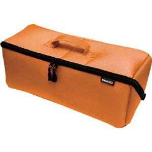 トラスコ中山 TDTC-420-OR 大開口布製工具ケース オレンジ 420mm