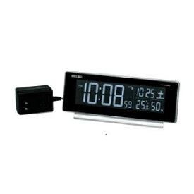 セイコー DL207S(シルバー) シリーズC3 電波目覚まし時計 交流式電源