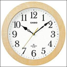 CASIO IQ-1108J7-JF 電波掛け時計 白木
