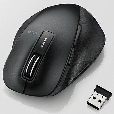 エレコム M-XGM10DBBK(ブラック) USB 光学センサー方式マウス 5ボタン