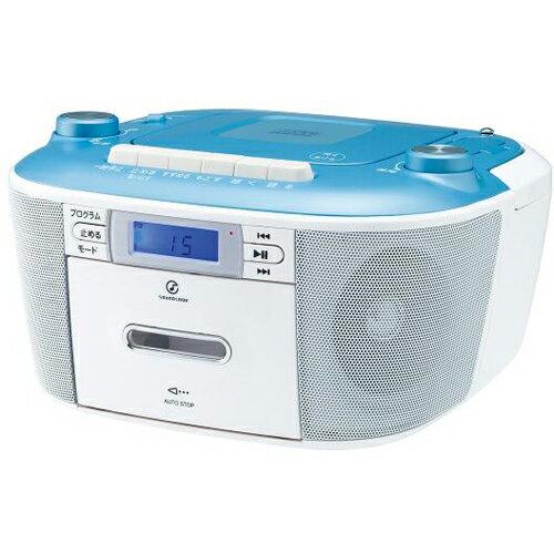 コイズミ SAD-4935/A(ブルー) CDステレオラジカセ