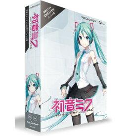クリプトン・フューチャー・メディア 初音ミク V4X バンドル(日本語&英語ライブラリー同梱) Win&Mac