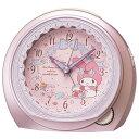 SEIKO CQ 143P(ピンクメタリック塗装) マイメロディ 目覚まし時計