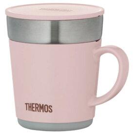 サーモス 保温マグカップ 0.24L JDC-241-LP ライトピンク JDC241LPひんやり 熱対策 アイス 冷感 保冷 冷却 熱中症 涼しい クール 冷たい