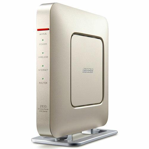 バッファロー WSR-2533DHP-CG(シャンパンゴールド) 無線LANルーター IEEE802.11ac/n/a/g/b