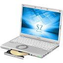 【長期保証付】パナソニック CF-SZ6JD3QR(シルバー) Let's note SZ6シリーズ 12.1型液晶