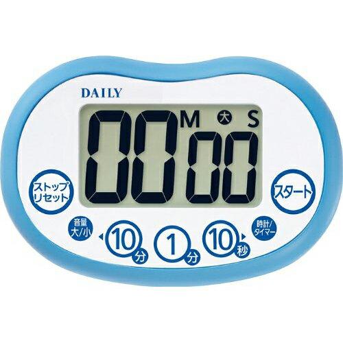 リズム時計 8RTA02DA04(ブルー) デジタルタイマー タイマーアクア