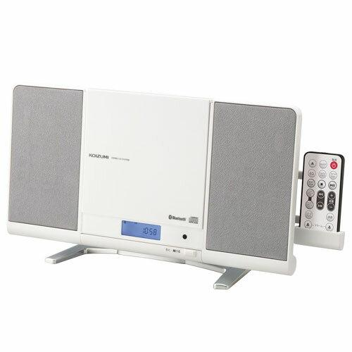 コイズミ SDB-4339/W(ホワイト) ステレオCDシステム Bluetooth/ワイドFM対応