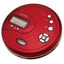 コイズミ SAD-3902/R(レッド) ポータブルCDプレーヤー