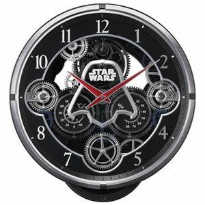 リズム時計 4MN533MC02(黒メタリック色) ス...