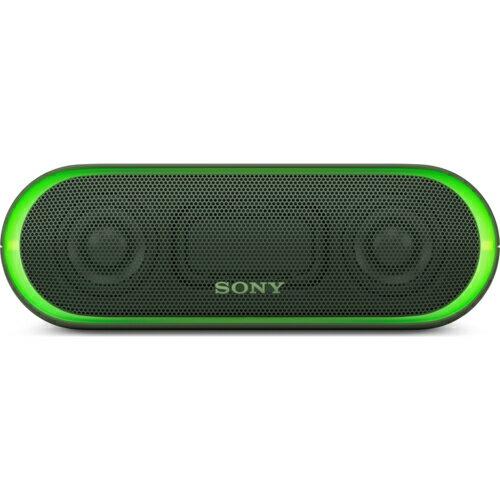 ソニー SRS-XB20-G(グリーン) ワイヤレスポータブルスピーカー Bluetooth接続