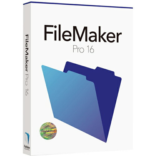 ファイルメーカー FileMaker Pro 16 Single User License Win&Mac