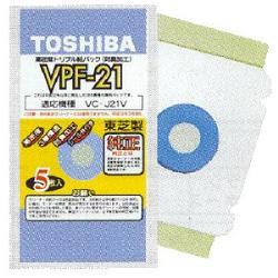 東芝 VPF-21 排気循環式掃除機用紙パック 5枚入