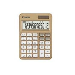 CANON KS-125WUC-GD(シャンパンゴールド) KS-125シリーズ カラフル電卓 12桁