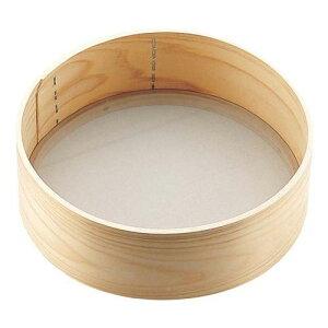 遠藤商事 木枠そば粉フルイ(60メッシュ) 7寸