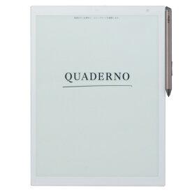 富士通 FMV-DPP03 QUADERNO(クアデルノ) 電子ペーパー A4サイズ