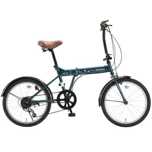 マイパラス M-208OC(オーシャン) 折畳自転車20・6SP