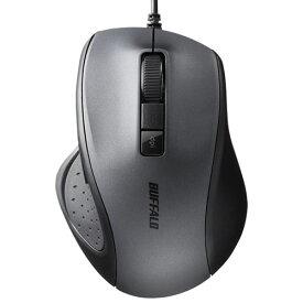 バッファロー BSMBU300BK(ブラック) USB 有線BlueLED光学式マウス 静音 5ボタン