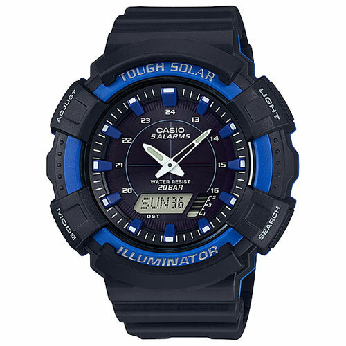 CASIO AD-S800WH-2A2JF ソーラー メンズ