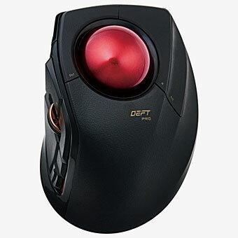 エレコム ELECOM M-DPT1MRBK(ブラック) USB/Bluetooth DEFT PRO光学センサーマウス 8ボタン LLサイズ MDPT1MRBK e-sports(eスポーツ) ゲーミング(gaming)