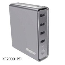 Energizer XP20001 PD-Energizer Powerbank 20000mAh USB電源ハブ型モバイルバッテリー PSE適合