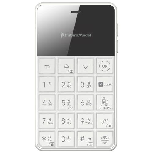フューチャーモデル MOB-N18-01-WH(ホワイト) NichePhone-S 4G(ニッチフォン-S 4G) 512MB/4GB SIMフリー