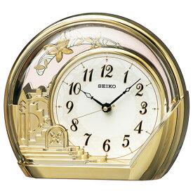 セイコー PW428G 振り子つき クオーツ置時計
