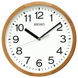 セイコー KX249B スタンダード 電波掛け時計