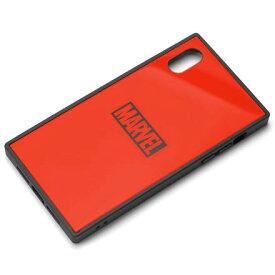 PGA PG-DCS622RD(ロゴ/レッド) iPhone XR用 ハイブリッドケース MARVEL