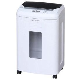 アイリスオーヤマ AFS100C-W(ホワイト) オートフィードシュレッダー プラスチック製カード対応