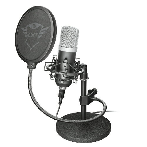 【長期保証付】Trust Gaming 21753 GXT 252 Emita Streaming Microphone