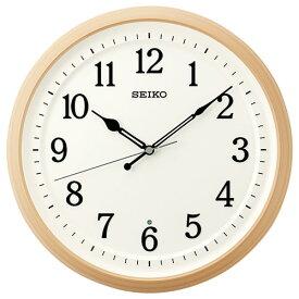 セイコー KX255B 電波掛時計 スタンダード