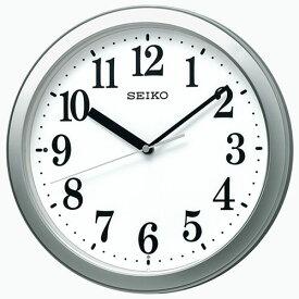 セイコー KX256S 電波掛時計 スタンダード