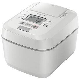 日立 RZ-V100DM-W(パールホワイト) ふっくら御膳 IHジャー炊飯器 5.5合