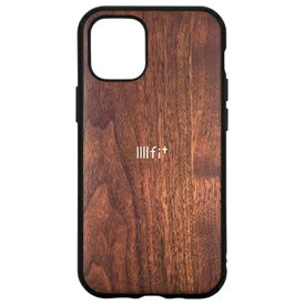 グルマンディーズ IFT-67WN(ウォールナット) iPhone12 mini用 ケース IIIIfit Premium Series