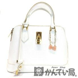 【中古】SAMANTHA THAVASA (サマンサタバサ) ブガッティ型ハンドバッグ【USED-B】