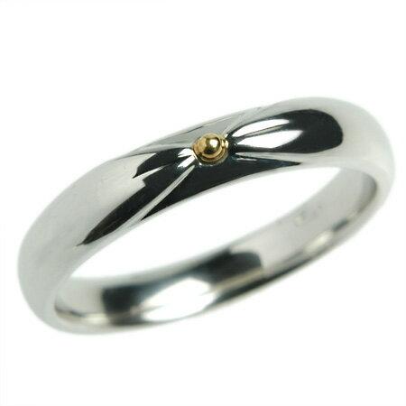 プラチナ リング K18 18金 リング 結婚指輪 マリッジリング ペチュニア Pt950×K18 18金 リング