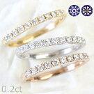 H&Cダイヤモンドエタニティリング0.2ctK18ダイアモンド11石プラチナも作成可カード鑑別書付ハート&キューピッド抜群の輝きE-Gカラー、VS-SIクラスハーフエタニティダイヤモンドリングダイヤモンドリングダイヤリングハーフエタニティダイヤエタニティ