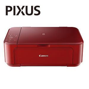 【あす楽対応_関東】【在庫あり送料無料】CANON キャノン PIXUS ピクサス インクジェット複合機 プリンター MG3630RD(レッド)