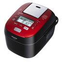 【送料無料】PANASONIC パナソニック Wおどり炊き スチーム&可変圧力IHジャー炊飯器 5.5合炊き SR-SPX105(RK-ルージュブラック)SRSPX105-RK