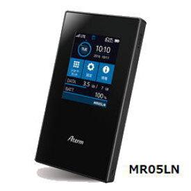 【あす楽対応_関東】【在庫あり送料無料】NECプラットフォームズ SIMロックフリー (デュアルSIM対応) LTE モバイルルーター Aterm エーターム MR05LN PA-MR05LN PAMR05LN[無線ac/n/a(5GHz)、n/g/b(2.4GHz)]【テレワーク応援】