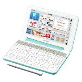 【送料無料】SHARP シャープ 電子辞書 大型キー搭載 小中学生に必要な英語の土台作りに役立つ Brain ブレーン 中学生向け PW-SJ4(G-グリーン) PWSJ4-G