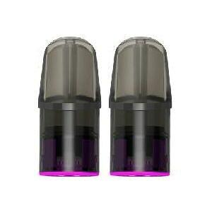 KEIAN 恵安 Lolly ニコチン0mg/タール0mg 充電式 電子たばこ LOLLY PLUS 専用POD二個入り LITCHI PLUS(ライチ)※本体は別売です。
