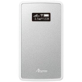 【あす楽対応_関東】【在庫あり送料無料】NECプラットフォームズ SIMロックフリー LTE モバイルルーター Aterm エーターム MP02LN SW PA-MP02LN-SW(メタリックシルバー) PAMP02LNSW [無線ac/n/a(5GHz)、n/g/b(2.4GHz)]【テレワーク応援】