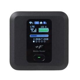 【あす楽対応_関東】【在庫あり送料無料】FUJISOFT 富士ソフト Wi-Fi利用時最大20時間 Bluetooth利用時は最大24時間の長時間バッテリー採用 最大通信速度4G下り150Mbps +F FS030W モバイルルーター FS030WMB1【テレワーク応援】