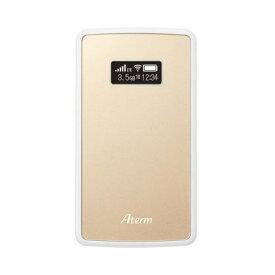 【あす楽対応_関東】【在庫あり送料無料】NECプラットフォームズ SIMロックフリー LTE モバイルルーター Aterm エーターム MP02LN CW PA-MP02LN-CW(シャンパンゴールド) PAMP02LNCW [無線ac/n/a(5GHz)、n/g/b(2.4GHz)]【テレワーク応援】