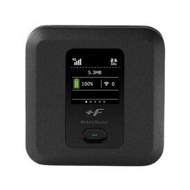 【あす楽対応_関東】【在庫あり送料無料】FUJISOFT 富士ソフト Type-CのUSBポート搭載 キャリアアグリゲーション対応 強化液晶 FUJI Wifi対応 最大通信速度4G下り300Mbps +F FS040W モバイルルーター FS040WMB1【テレワーク応援】