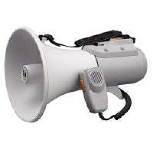 TOA トーア メガホン 拡声器 ホイッスル音付 定格出力15W ショルダーメガホン ER-2115W ER2115W