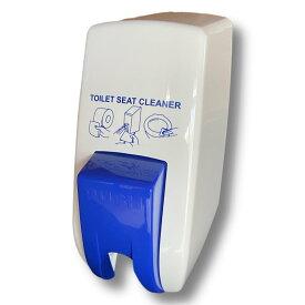 トイレ便座シート除菌クリーナー(ディスペンサー+液体カートリッジ)