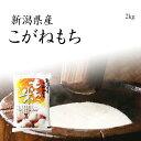 【もち米】新潟産こがねもち 2kg 新米 / 令和元年産 送料無料